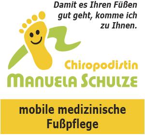 Mobile Fußpflege Brandenburg an der Havel - Chiropodistin Manuela Schulze